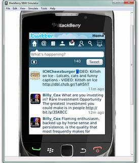 Cara Menjalankan Blackberry di Komputer/Laptop Dengan Blackberry Device Simulator